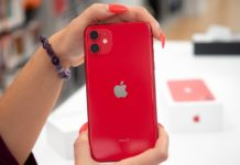 iphone 11 rosso red ico