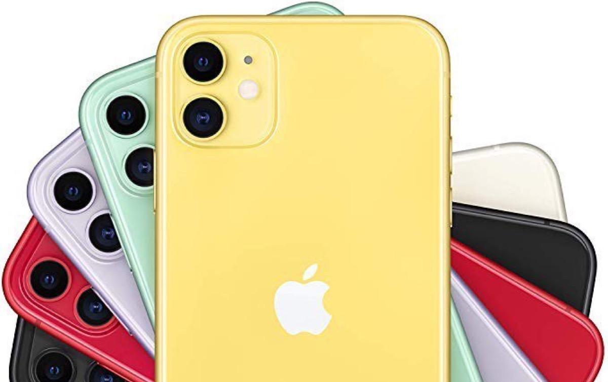 iPhone 11 giallo 64 GB scontato di 80 euro e lo ricevete per Natale