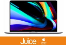 "Da Juice MacBook Pro 16"" si compra da 179,90 euro al mese, regalo incluso"