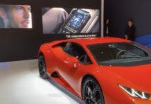 Alexa approda a bordo della gamma Huracán EVO di Lamborghini