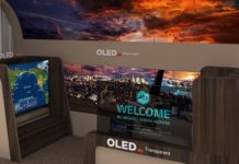 Ecco l'OLED TV di LG che si srotola dal soffitto