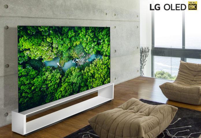 LG, la nuova lineup di TV 8K al CES 2020 di Las Vegas