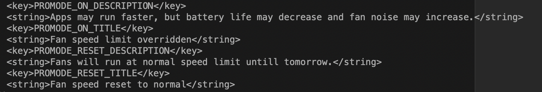 In macOS Catalina 10.15.3 riferimenti a una Modalità Pro?