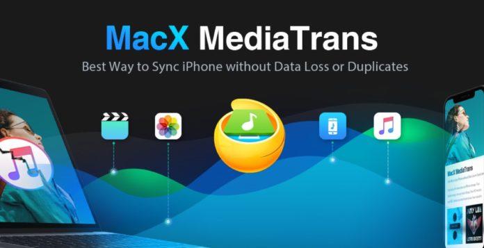 L'app MacX MediaTrans per trasferire foto/video/musica tra iPhone e Mac al 50%