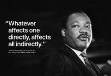 Apple e Tim Cook celebrano il Martin Luther King Day