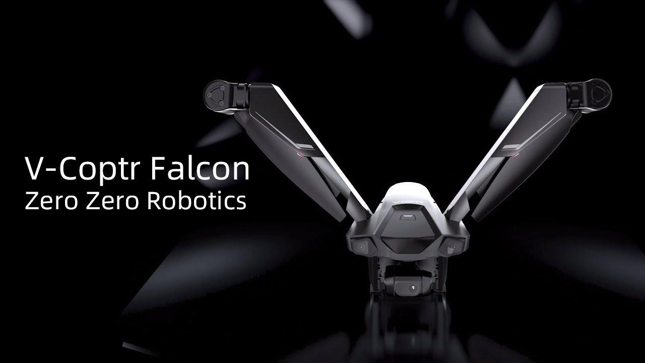 V-Coptr Falcon, ecco il drone che vola per 50 minuti