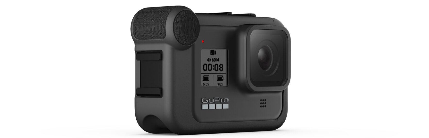 L'unità multimediale opzionale di GoPro trasforma HERO8 nell'accessorio perfetto per i vlogger in mobilità
