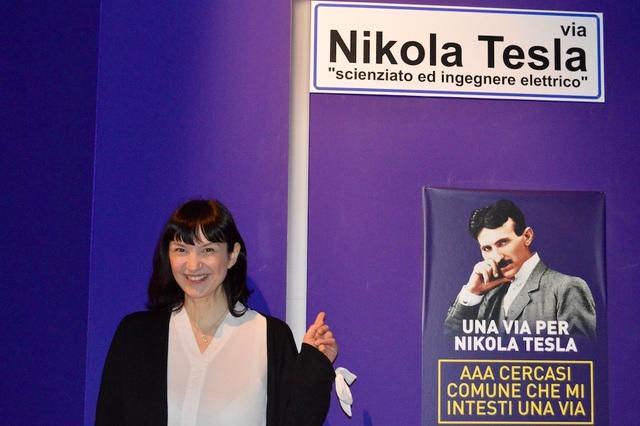 Intitolare una strada a Nikola Tesla: appello della pronipote dello scienziato alle città italiane