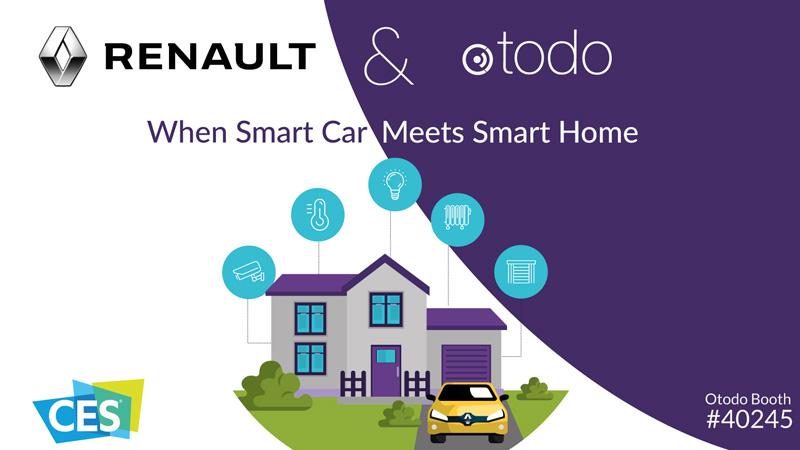 CES 2020, nuova soluzione di connettività da Renault e Otodo