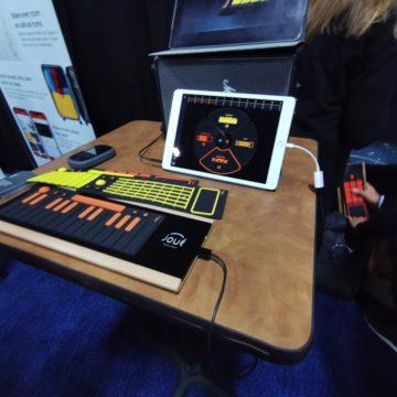Play Joue, una speciale superficie da suonare con pad intercambiabili al CES 2020