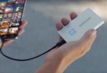 SSD esterni, Samsung ha presentato il Portable SSD T7 Touch