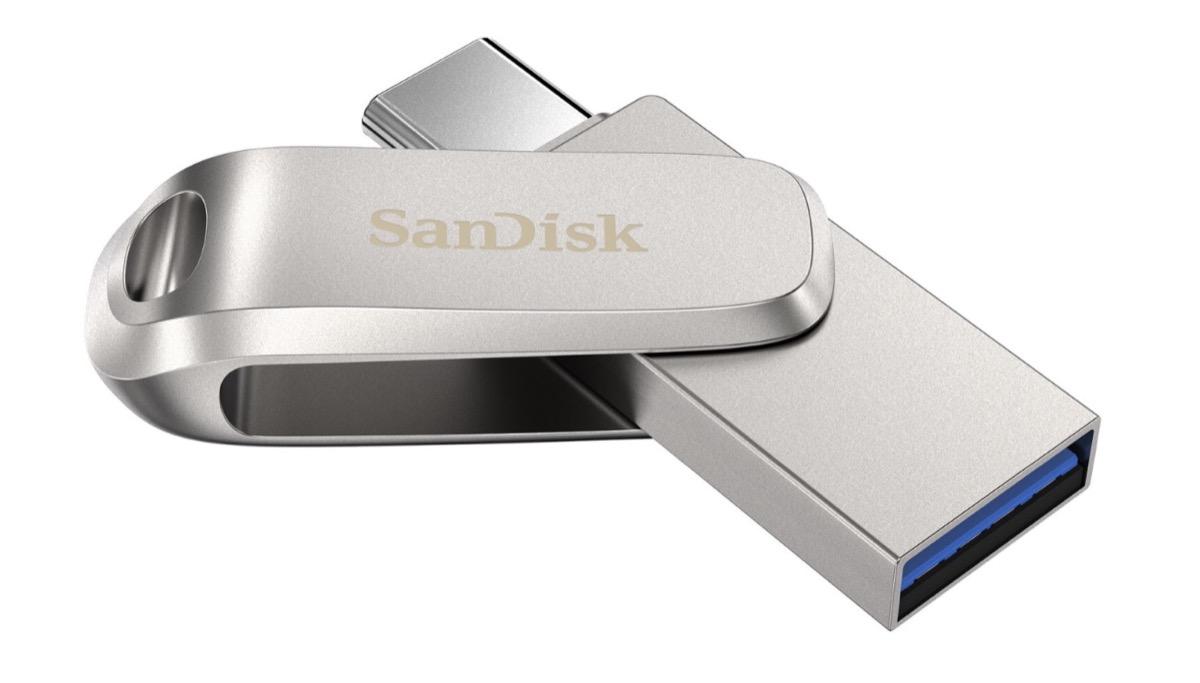 SanDisk USB-C da 1 TB chiavetta al CES 2020