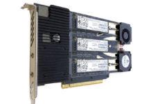 Test del Mac Pro 2019 con varie unità RAID su schede PCIe