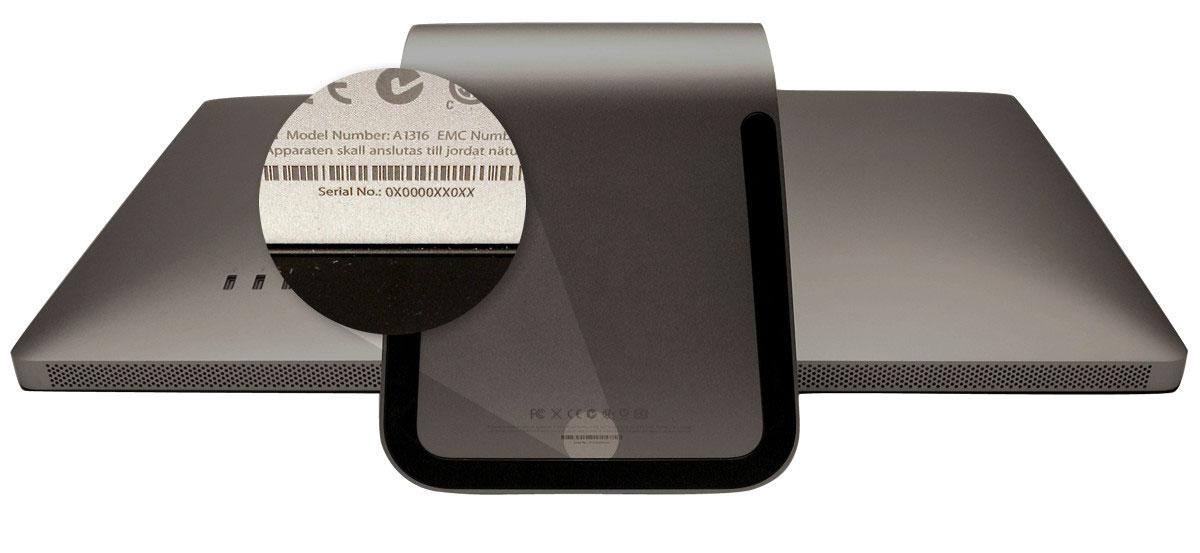 Apple sfrutterà numeri di serie casuali per identificare i futuri Mac