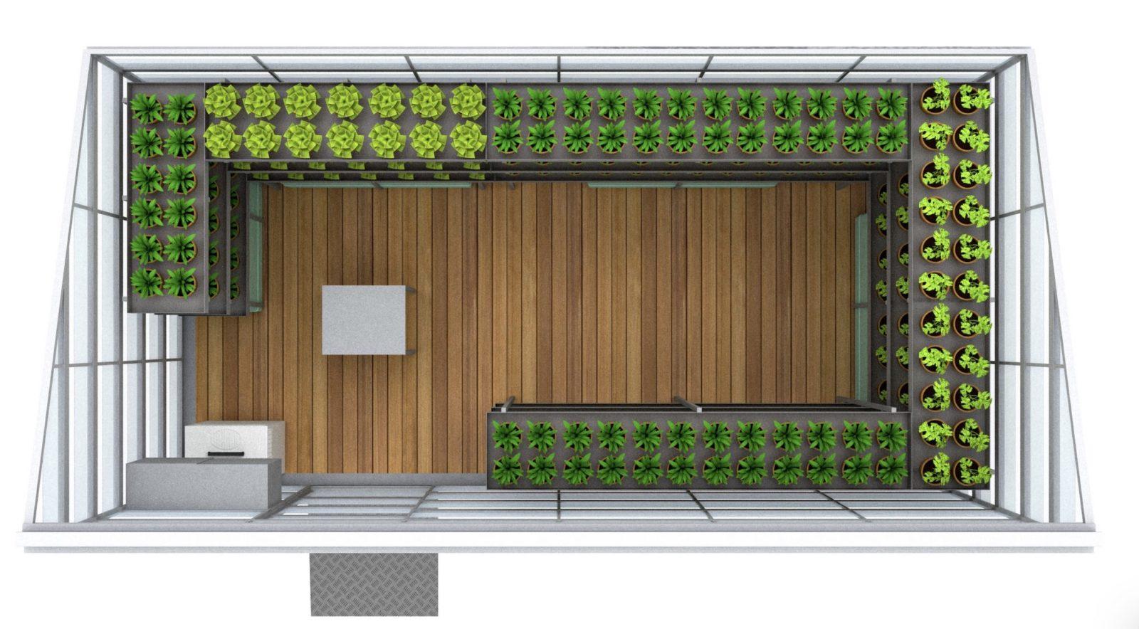 Serranova at CES 2020: modular greenhouses with photoluminescence for 0 KM vegetables