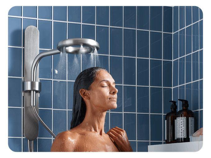 Tim Cook offre consigli a Nebia sui soffioni da doccia