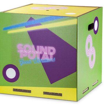 Soundpotai è la cassa armonica riciclata e riciclabile