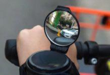 Specchietto retrovisore da polso, ottimo in bicicletta: sconto a soli 10 euro