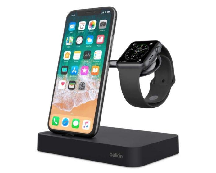Dock Belkin per ricaricare iPhone e Apple Watch insieme scontato del 70%