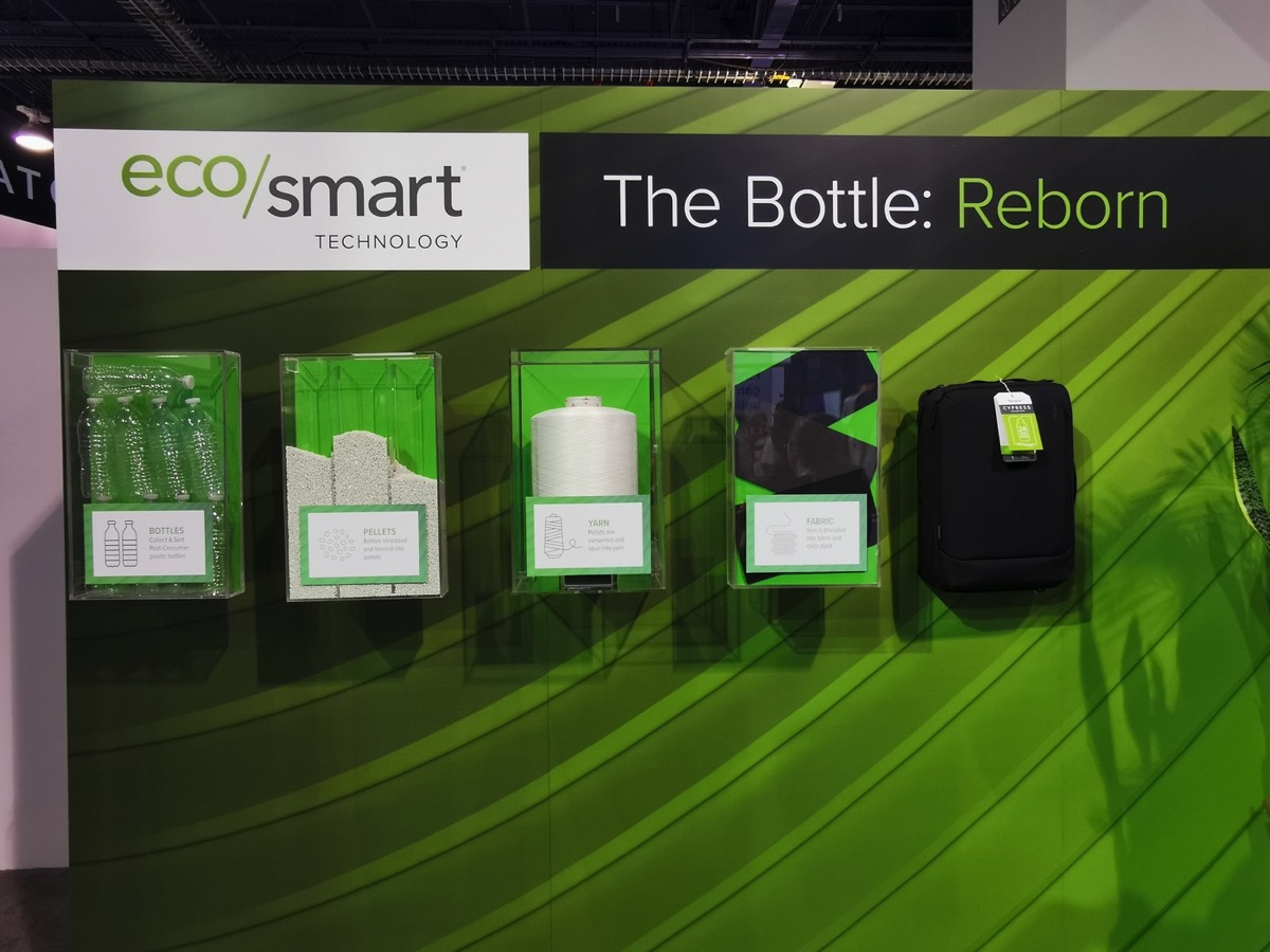 targus zaini bottiglie riciclate CES 2020