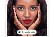 La realtà aumentata su Pinterest per provare i prodotti di makeup prima di comprarli