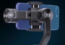 Zhiyun Smooth 4, gimbal per smartphone con corona digitale in sconto a 90 euro