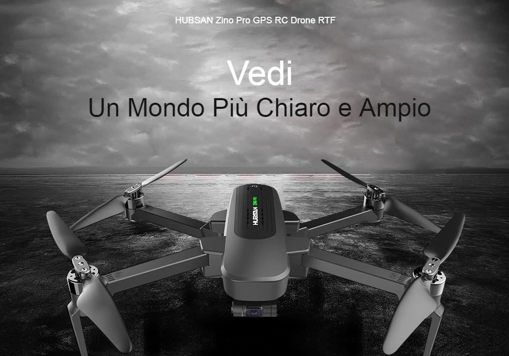 Hubsan ZINO Pro, drone 4K