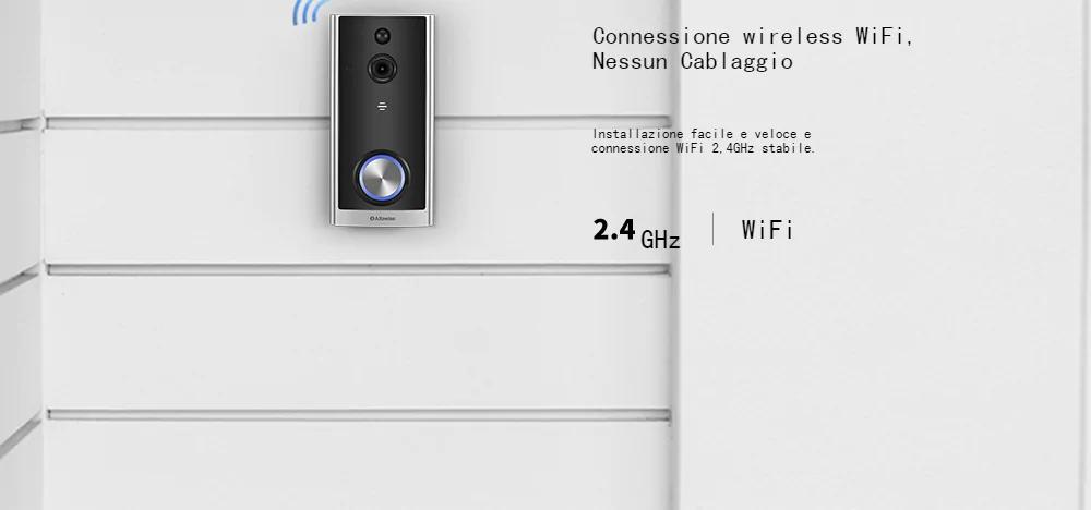Alfawise L18, il campanello wireless con camera integrata ora in offerta lampo a 38 euro