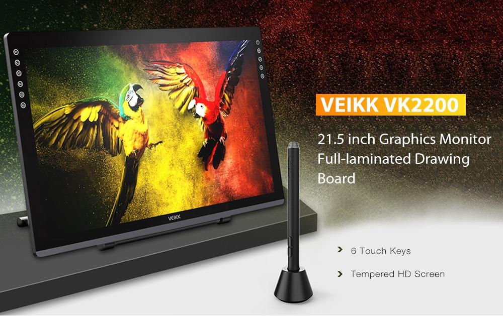 VEIKK VK2200, la lavagna grafica professionale da 21,5 pollici in offerta lampo a 371,03 euro