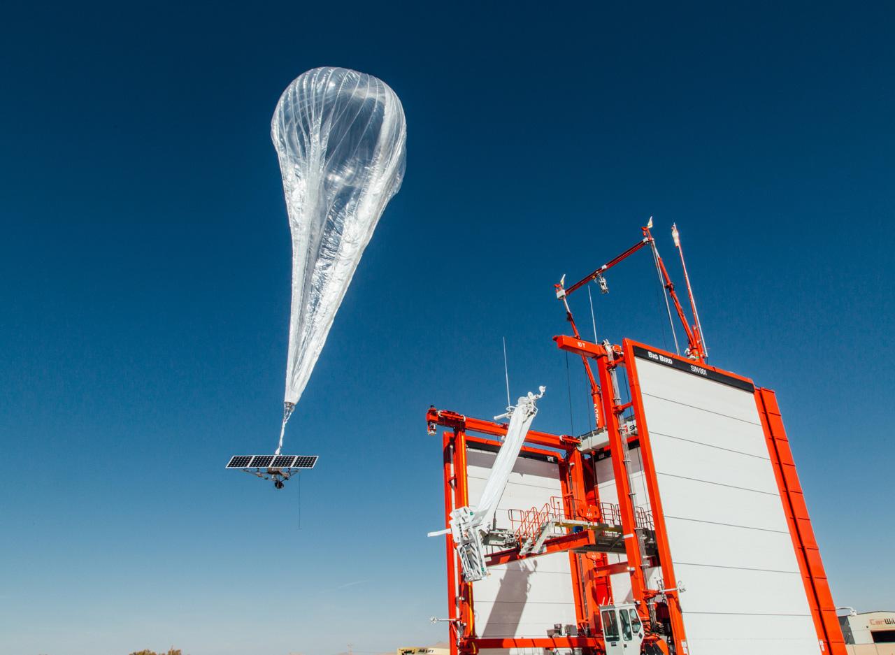 Alleanza tra big della telefonia per le connessioni Loon dalla stratosfera
