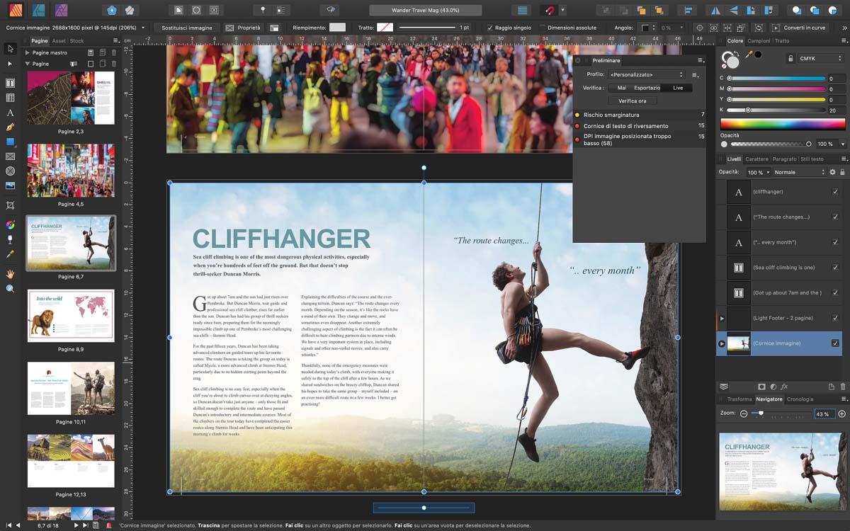 L'app di desktop publishing Affinity Publisher ora permette di importare i file IDML di InDesign