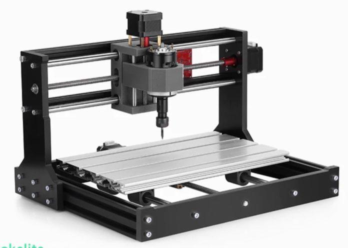 Alfawise C10 Pro, la macchina ad incisione laser per legno e pelle
