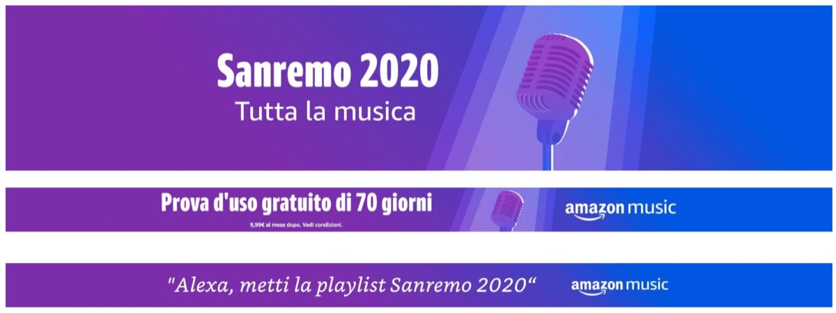 Sanremo continua con Amazon Music e Alexa: tutti i contenuti dedicati al Festival