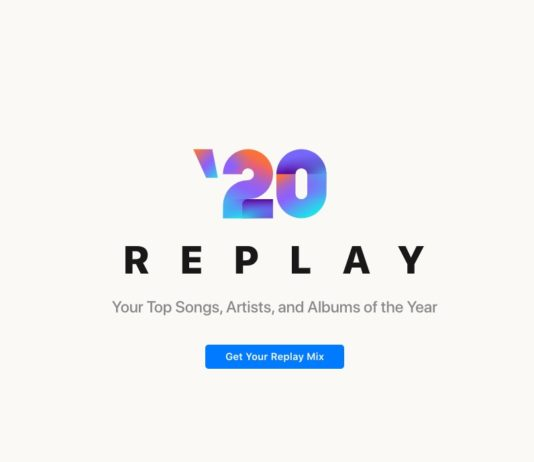 Apple Music Replay 2020 disponibile tramite web per rivivere la musica preferita