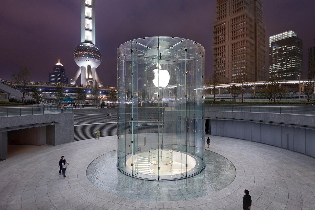 L'Apple Store di Shanghai