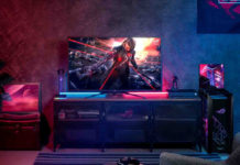 In Italia il monitor da 43″ Asus PG43UQ con tecnologia display stream compression