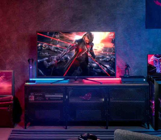 In Italia il monitor da 43″ Asus PG43UQ con tecnologia display stream compression