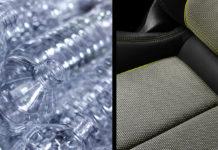 Nuova Audi A3: oltre 100 bottiglie riciclate per i rivestimenti in abitacolo