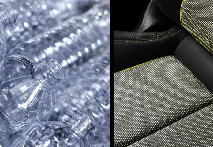 Nuova Audi A3: oltre 100 bottiglie riciclate per i rivestimenti interni