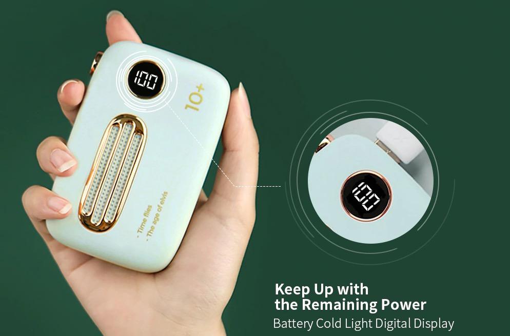 Da Xiaomi youpin la batteria portatile da 10.000 mAh dal sapore retrò in offerta a 38,64 euro
