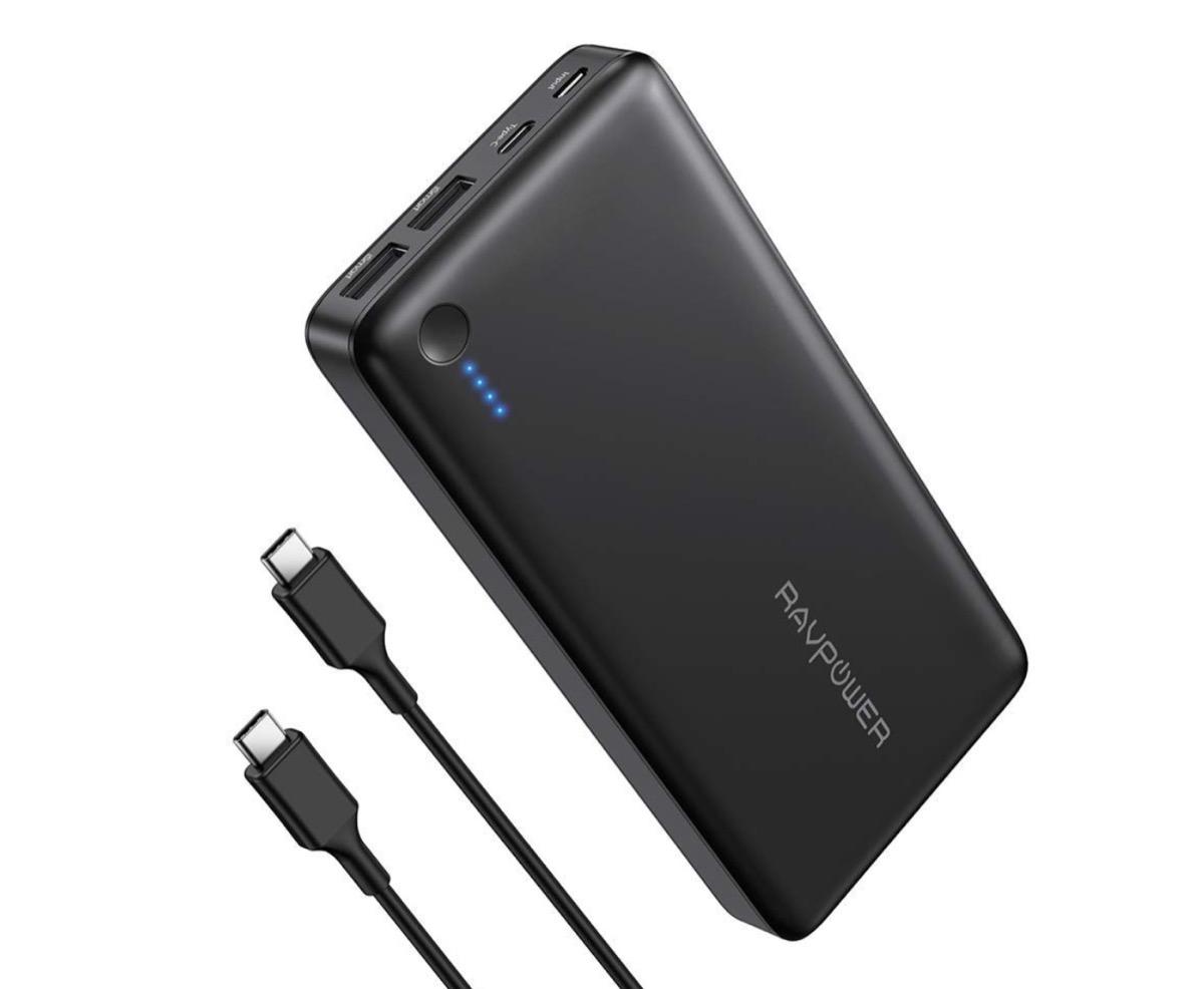 Mega batteria da 26.800 mAh con 2 USB-A e 1 USB-C a soli 41,24 euro