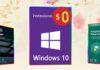 Gratis le licenze per Windows 10 Pro con uno dei software in promozione a metà prezzo