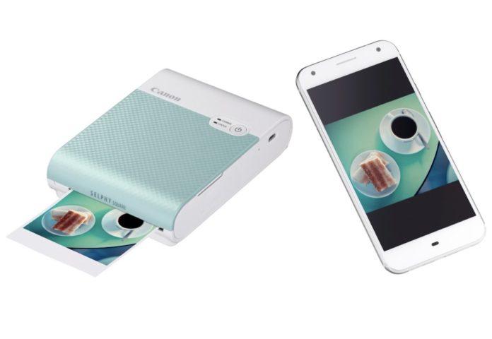 Canon SELPHY SQUARE QX10: foto a sublimazione e adesive da iPhone e Android