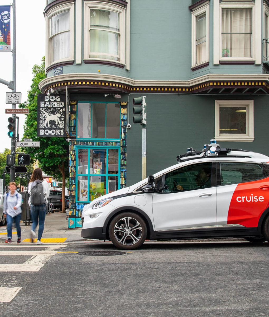 Cruise ha ottenuto la licenza per testare i suoi taxi a guida autonoma senza conducente