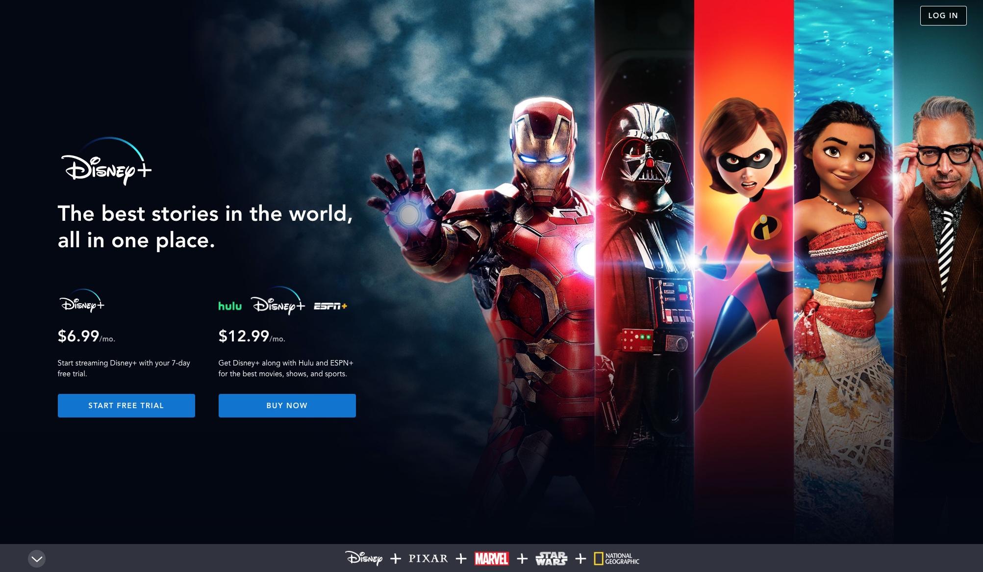 Disney+ è disponibile in preordine con un'offerta a tempo limitato