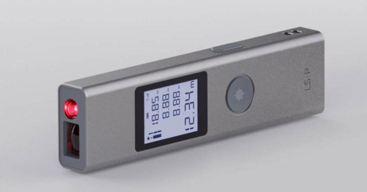 DUKA, telemetro digitale leggero e super compatto a soli 23,69 euro