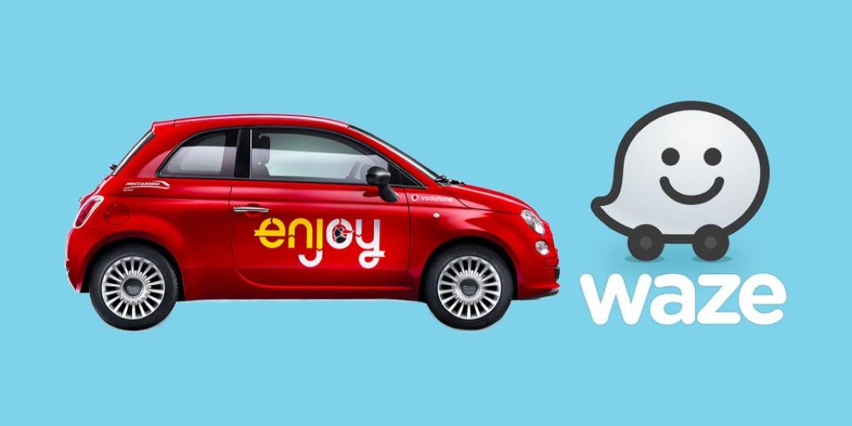 Dentro Waze ora c'è il servizio di car sharing di Eni