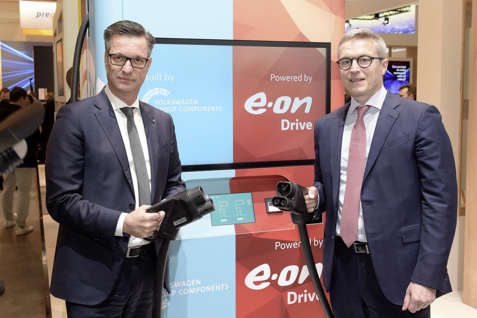 E.ON e Volkswagen, nuova soluzione per la ricarica ultra-rapida dei veicoli elettrici