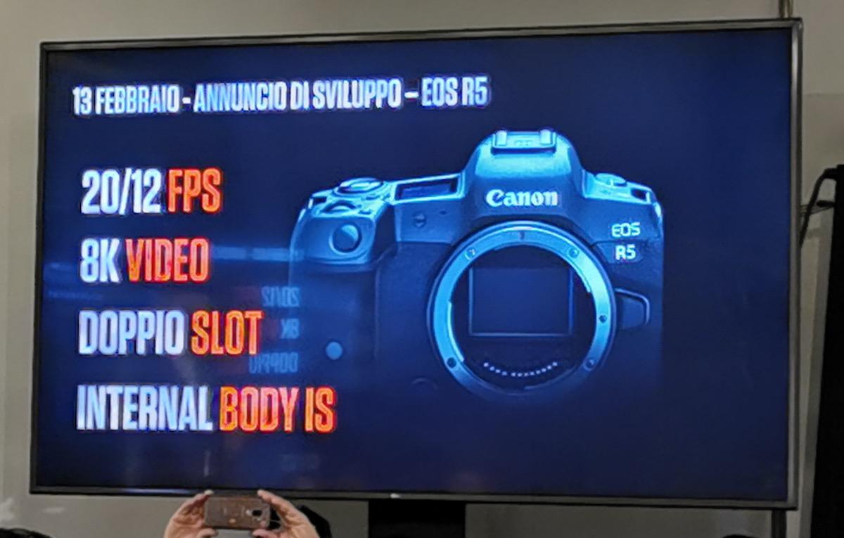 Canon EOS R5: il futuro delle mirrorless è in 8K con stabilizzazione e connettività top
