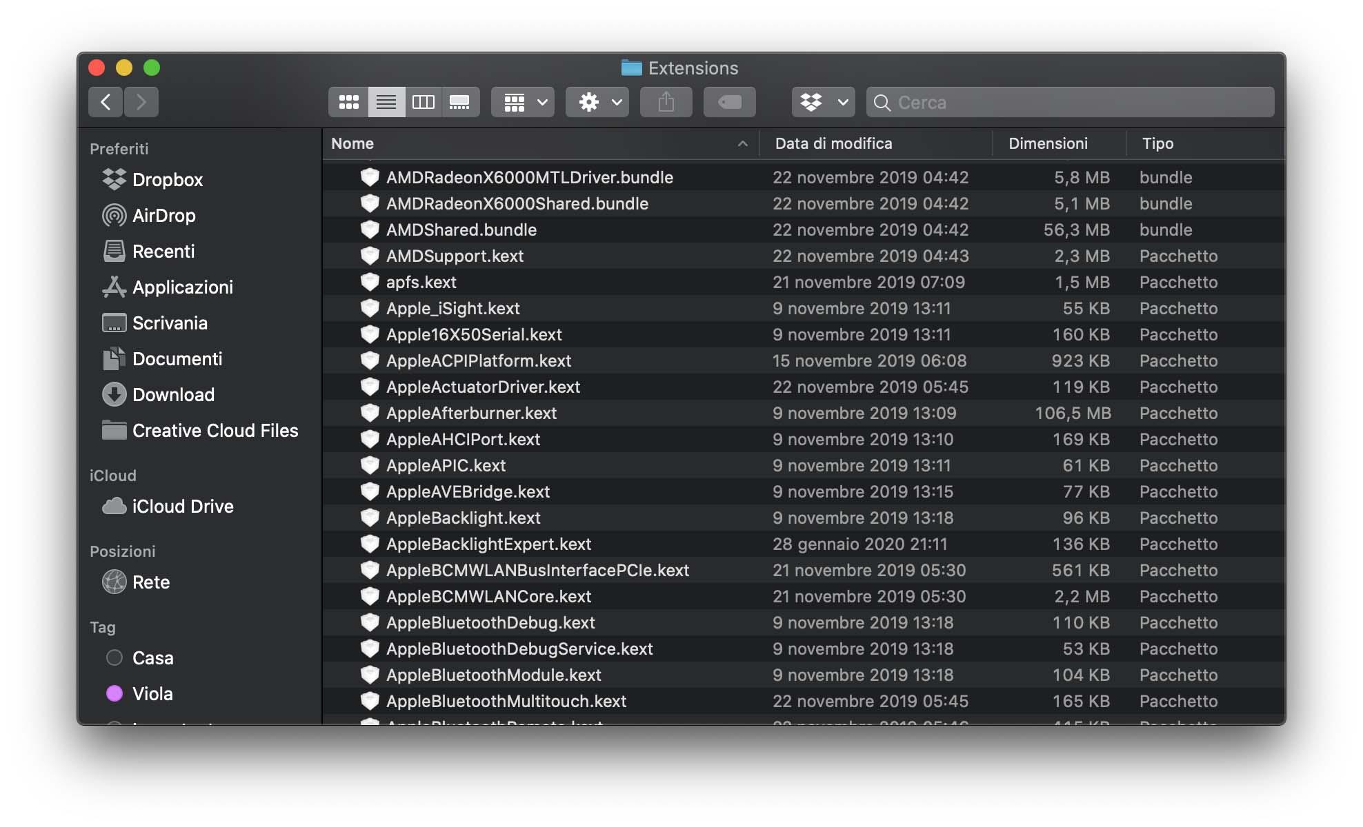 Da macOS 10.15.4 Apple bloccherà le estensioni per il kernel (KEXT)